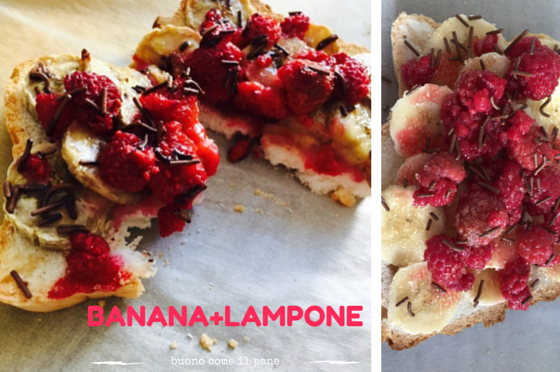 Banana+Lampone